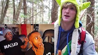 PARENTS REACT TO LOGAN PAUL SUICIDE FOREST VLOG **VERY EMOTIONAL**