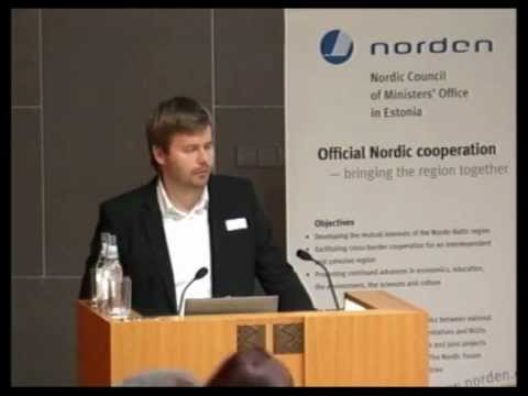 Rene Tammist (Rohevik 2012): 100% renewable energy -- transition to clean energy