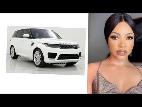 bbnaija star Nengi bought a new Range Rover.