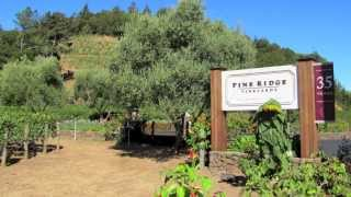 Pine Ridge Vineyards - Napa, California