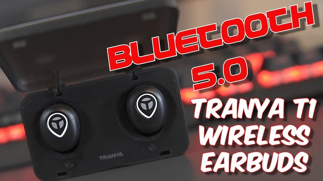 53359c05213 Tranya T1 Sport Earbuds - Bluetooth 5.0 True Wireless Headphones ...