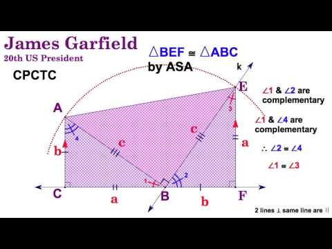 7.1 James Garfield's Proof of the Pythagorean Theorem