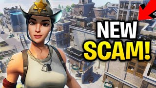 *NEW SCAM* Edit Walls With Traps On Them Scam! (Scammer Get Scammed) Fortnite Save The World