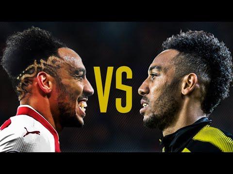 Aubameyang Dortmund vs