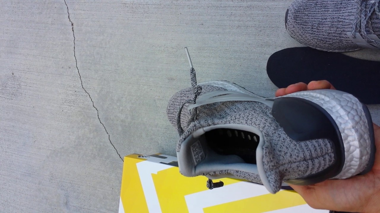 91ba9a93b Adidas Ultra Boost 3.0 silver pack first look wear tested - YouTube