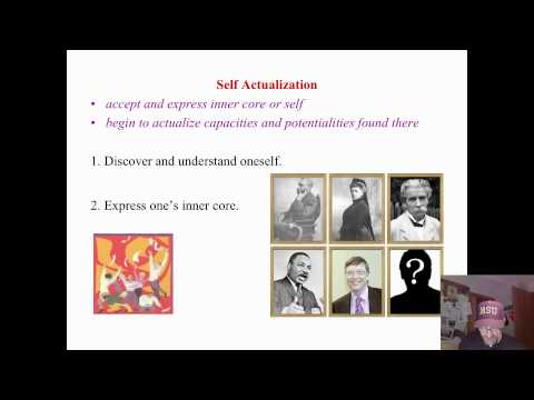 Humanistic Learning Theory: Self Actualization