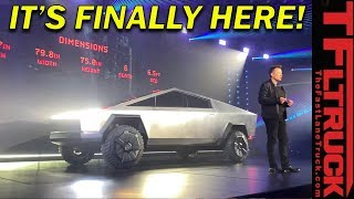 Watch the $39,900 Tesla CYBERTRUCK Debut and Get Hammered! Really, They Sledgehammer On It!