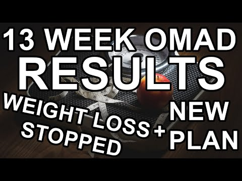 13-week-omad-results-|-weight-loss-has-stopped-|-new-plan