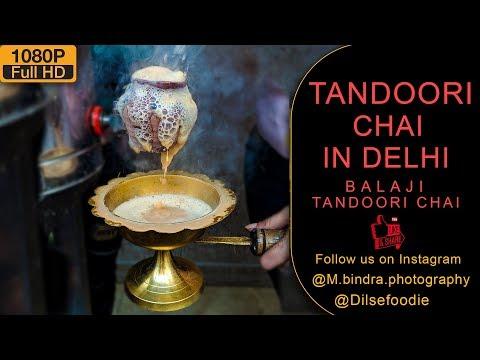 Tandoori Chai In Delhi At Krishna Nagar