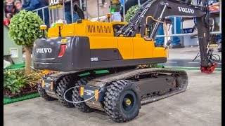 RC truck excavator transport! THE DIFFERENT WAY!