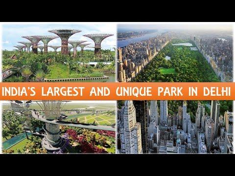 Bharat Vandana Park Dwarka New Delhi   Park in India   Megaprojects in india   Papa Construction