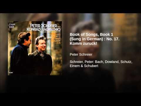 Book of Songs, Book 1 (Sung in German) : No. 17. Komm zuruck!