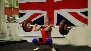 Josh Farghally Clean and Jerk 140 kg @ 94 kg