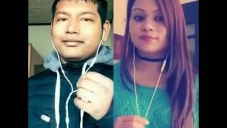 Ko hola tyo ma sanga aankhaa judhaune - Nepali Pop Smule Sing Karaoke
