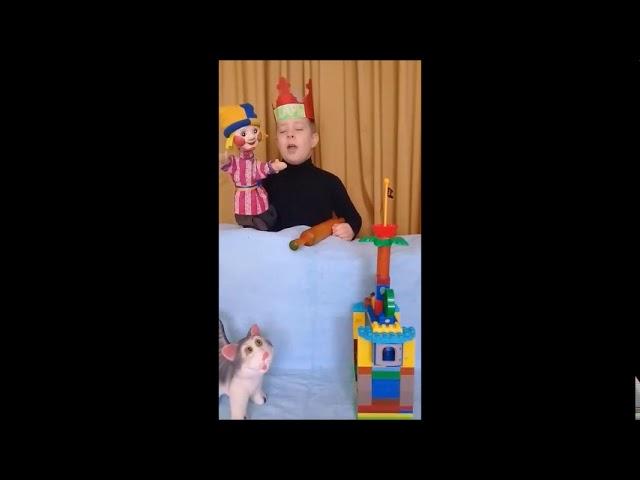 Изображение предпросмотра прочтения – ЕгорЛихопавло читает отрывок изпроизведения «Народная драма Озорник Петрушка» (Русский фольклор )