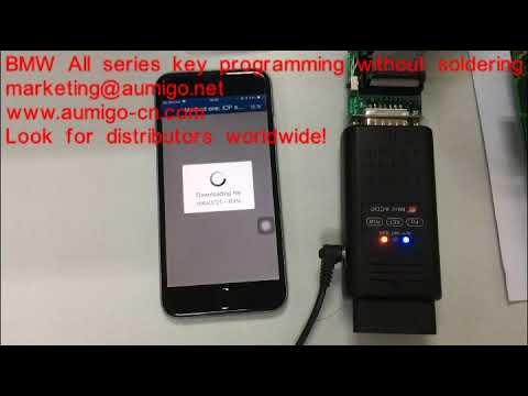 BMW FEM Key Programming without soldering  Easy! Every locksmith can do BMW now