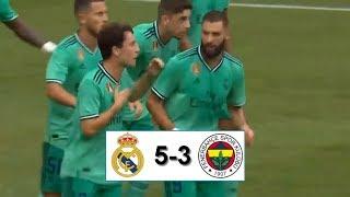 Реал Мадрид - Фенербахче 5-3 обзор матча