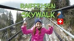 """Hängebrücke """"Raiffeisen Skywalk"""" in Sattel / Schwyz   Hochstuckli Schweiz"""