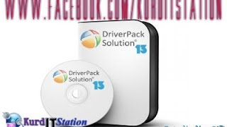 Download and burn DriverPack Solution 13 a DVD version