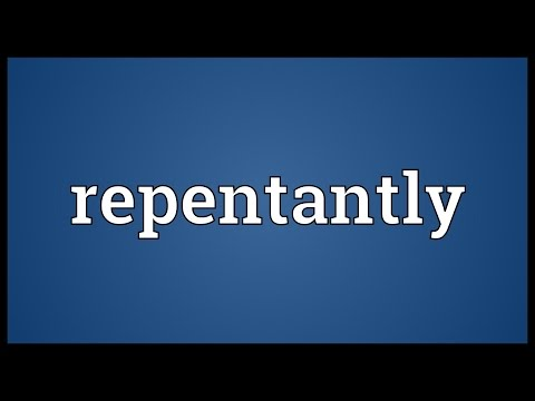 Header of repentantly