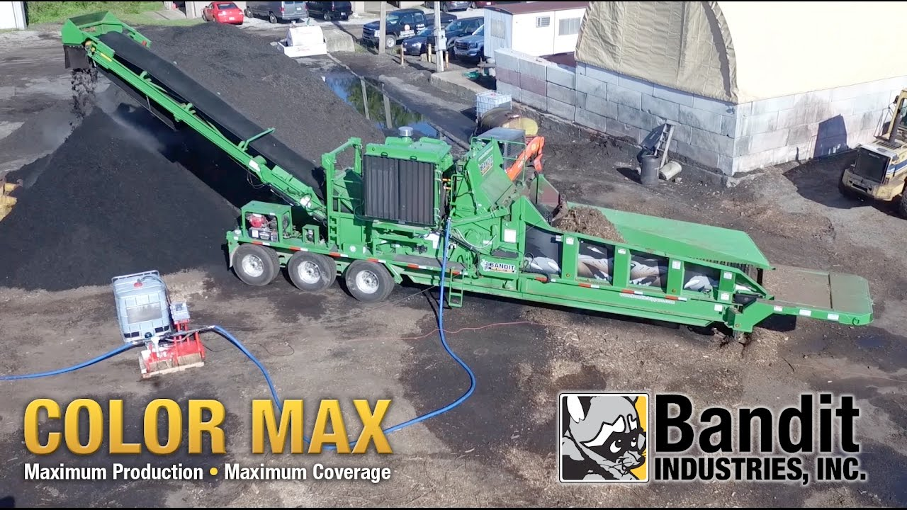 Bandit Beast® 3680 with Color Max colorant system.