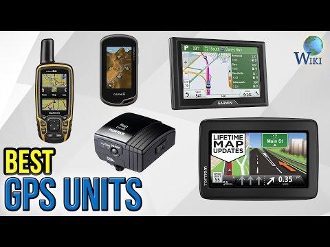 8 Best GPS Units 2017