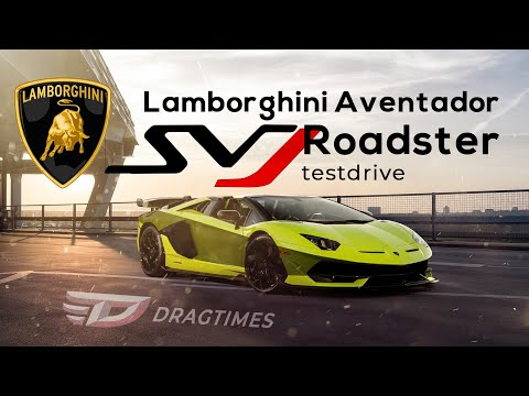 DT Test Drive — Lamborghini Aventador SVJ Roadster