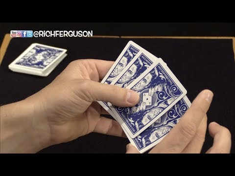 AMAZING Card Trick! Switch 4 of a Kind like a Boss!