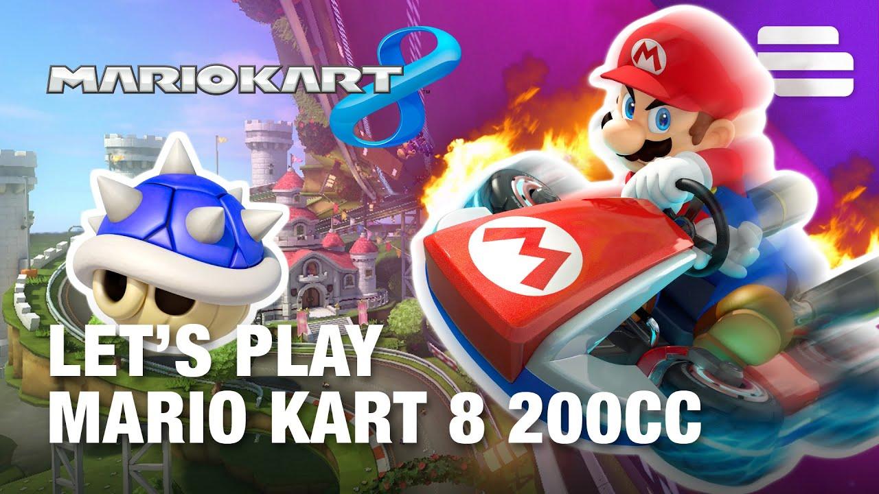mario kart 200cc how to turn