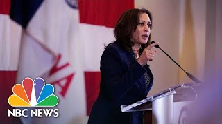Kamala Harris Makes First Iowa Impressions While Stumping For Democrats | NBC News
