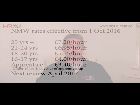National Minimum Wage