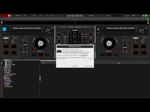 Numark Party Mix - Downloading and Activating the Included Virtual DJ LE