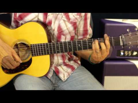 Alex Clare Too Close - How To Play On Guitar - Beginner Acoustic Lesson