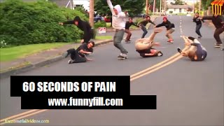 60 Seconds of Pain - Fail Compilation 2015 - FunnFill
