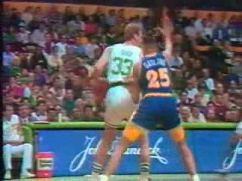 NBA - 1991/1992 season highlights [Nets, 76ers, Bird