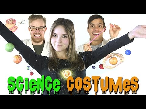 5 Last Minute DIY Science Halloween Costumes!