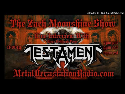 Testament - Steve Di Giorgio Interview 2019 - The Zach Moonshine Show