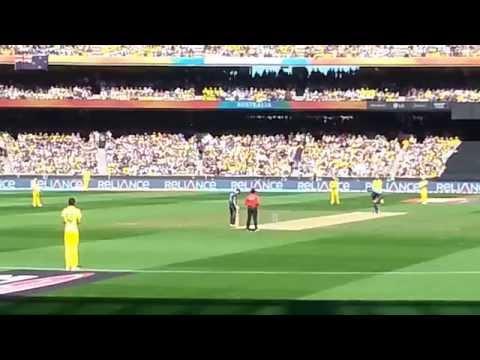 Cricket World Cup Final 2015 MCG- First Ball