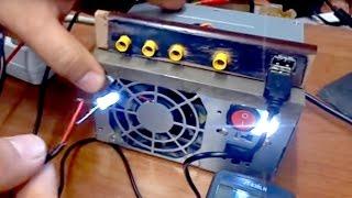 DIY - PSU Power supply with USB port / Converting ATX Power Supply to Lab Bench Power Supply