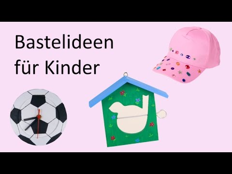 basteln kindergeburtstag ausgefallene bastelideen f r kinder youtube. Black Bedroom Furniture Sets. Home Design Ideas