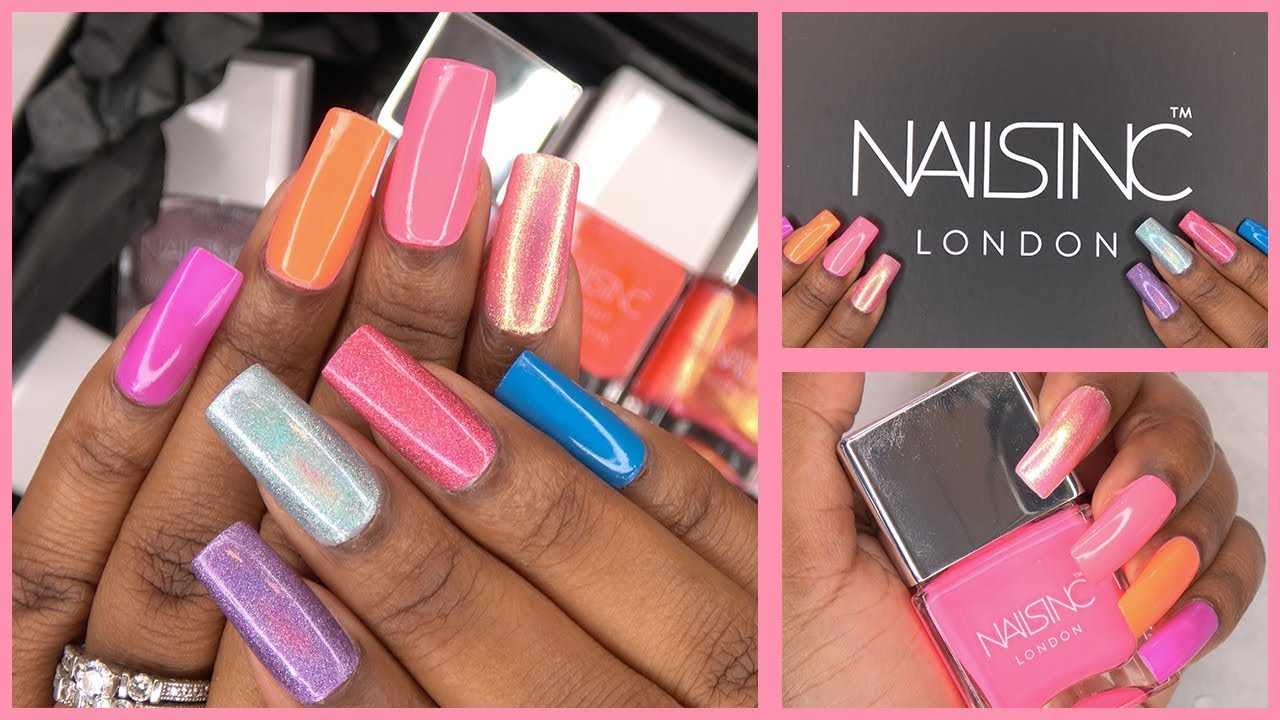 Best Nail Polish I've Ever Tried! | Nails Inc Haul and Color Swatches | LongHairPrettyNails
