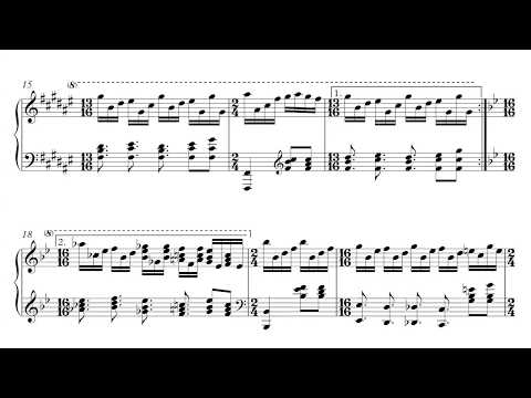 Genesis - Firth of Fifth - Piano Sheet Music + PDF