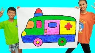 Giant ambulance, Belajar Menggambar dan Mewarnai untuk Anak MP3