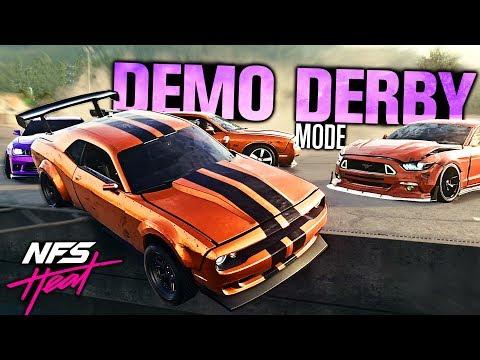 Need for Speed HEAT - DEMOLITION DERBY MODE! |