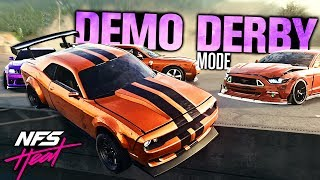 Need for Speed HEAT - DEMOLITION DERBY MODE!