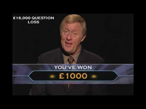 Who Wants To Be A Millionaire - DVD Game (2nd Edition) - All Lose Reaction Cues |