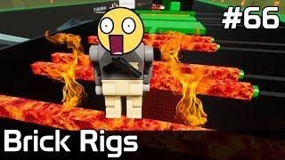 Brick Rigs PL [#66] EKSTRA Tor Przeszkód z LAWĄ /z Plaga