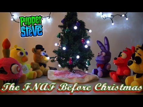 Five Nights at Freddy's - Twas the FNAF Before Christmas Plushies (Funko Mcfarlane Toys)