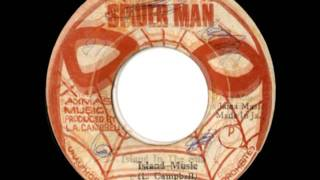 EARL GEORGE Aka GEORGE FAITH + SKIN FLESH & BONES   Island in the sun + island music 1976 Spider man