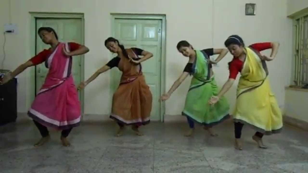 How to bharatanatyam wear saree video new photo